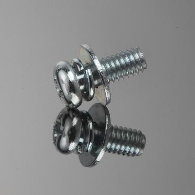 盘头十字三组合螺钉
