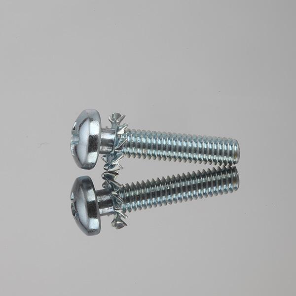 盘头十字花齿二组合螺钉